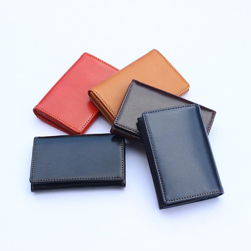 【レザージー/leather-g】イタリアンレザーの名刺入れ カードケース