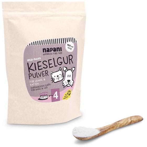 キーゼルグア 珪藻土パウダー 犬&猫用(Kieselgur)