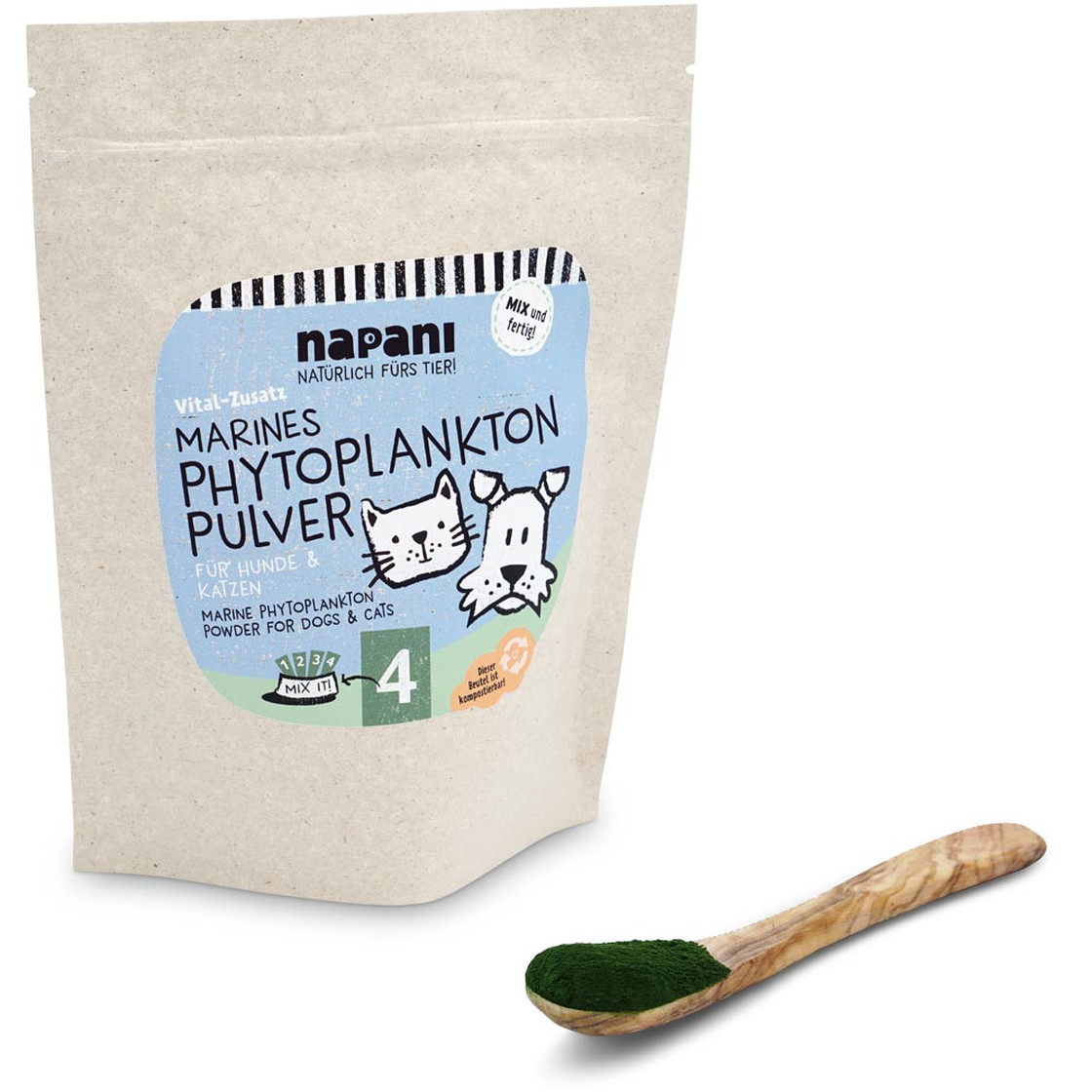 マリネスフィトプランクトン 犬&猫用(Marines Phytoplankton Pulver)
