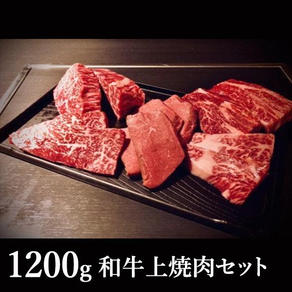 和牛上焼肉セット 6人前 1200g 送料込(沖縄別途590円)