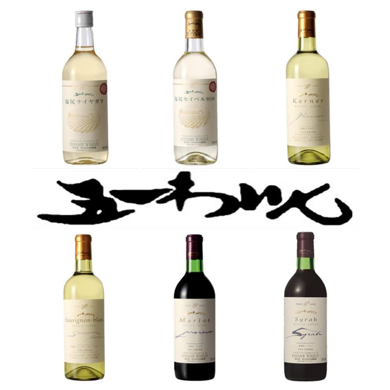 林農園 五一わいん 日本ワインコンクール受賞ワイン6本セット 720ml×6 送料込 (沖縄別途1,060円)20歳未満の飲酒・販売は法律で禁止されています