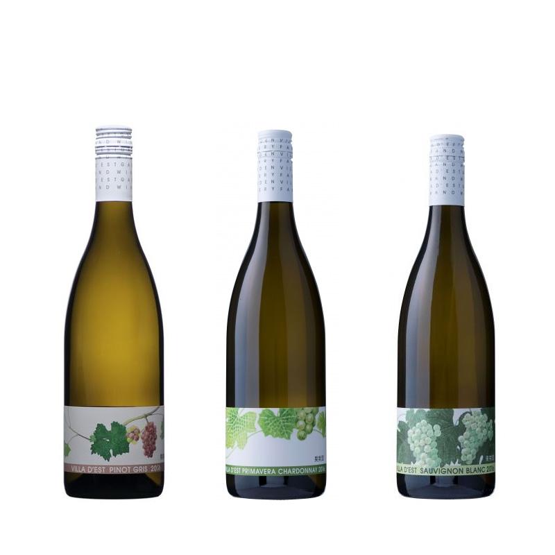 ヴィラデスト 白3種飲み比べ ワイン3本セット 750ml×3 送料込 (沖縄別途590円)20歳未満の飲酒・販売は法律で禁止されています