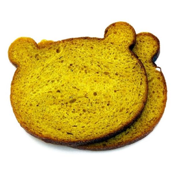 野菜食パン(クマ)5種セット[冷凍] 送料込(沖縄別途240円)