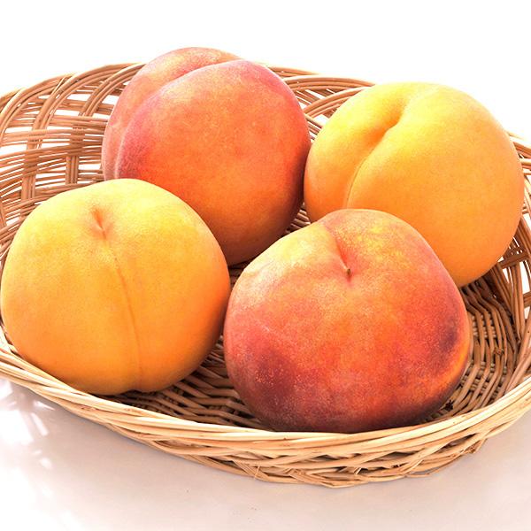 【信州産直便】 桃 もも 黄金桃 訳あり 2kg 5〜10玉入り 送料込 沖縄県・離島地域配送不可