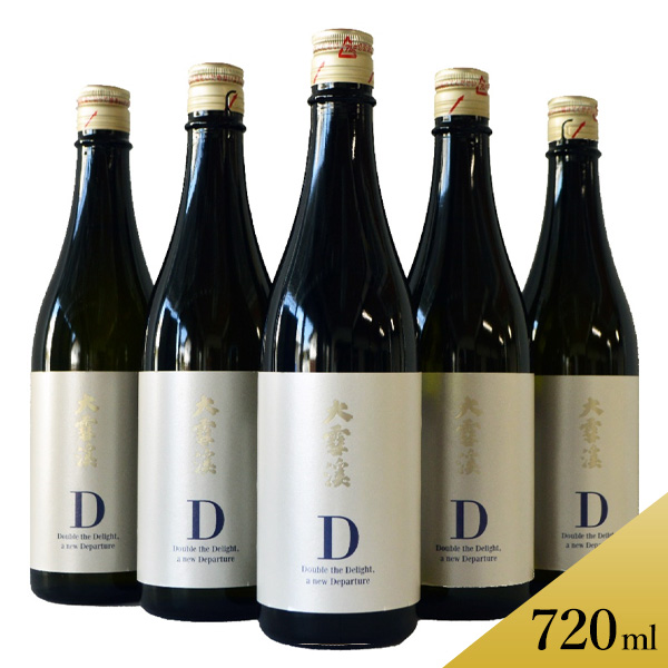 大雪渓 純米吟醸 D 720ml×6本セット 送料込(沖縄配送不可)※20歳未満の飲酒・販売は法律で禁止されています
