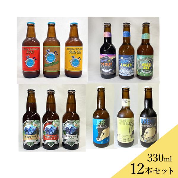 クラフトビールセット 12本セット(沖縄別途1,060円)信州産 フルーツエール 20歳未満の飲酒・販売は法律で禁止されています