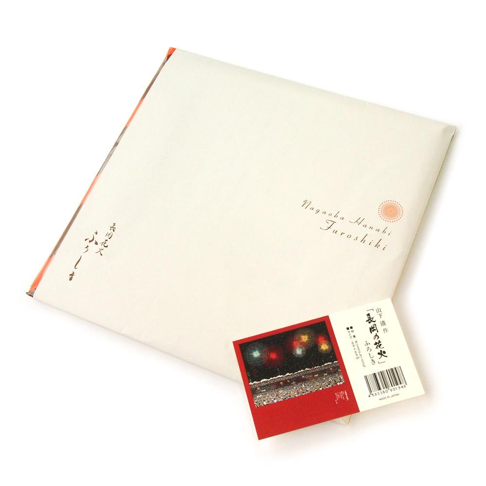 山下清 作 「長岡の花火」ふろしき