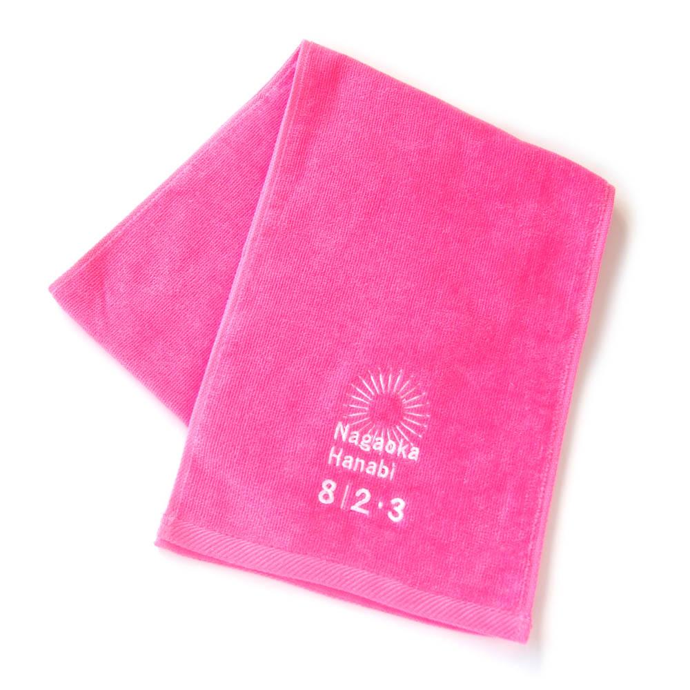 Nagaoka Hanabi マフラータオル(ピンク)