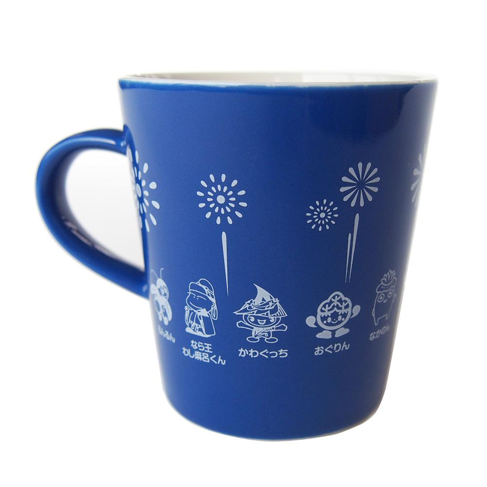 越後長岡限定 ご当地キャラマグカップ(ブルー)