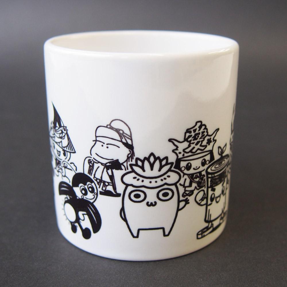 越後長岡限定 ご当地キャラマグカップ(ホワイト)