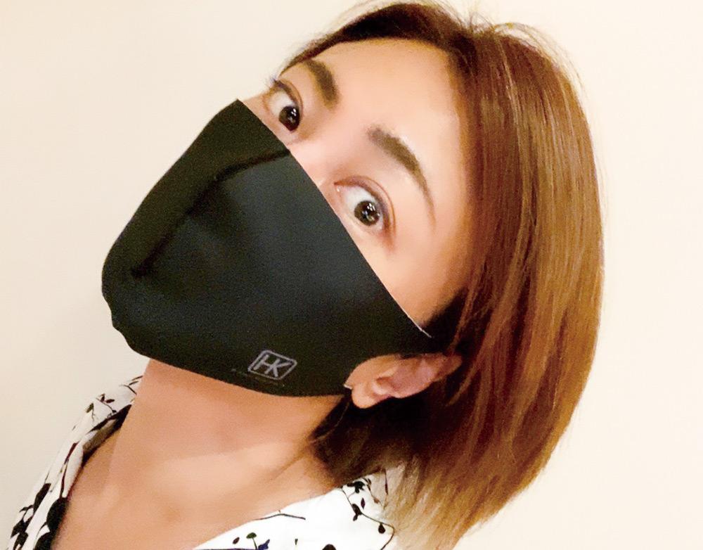 氷川きよし・HKマスク(白)