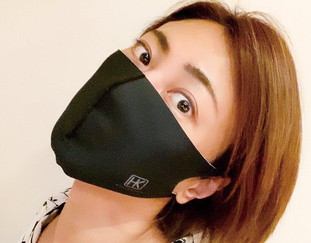 氷川きよし・HKマスク(黒)