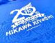 氷川きよし・20thロゴ Tシャツ(青)