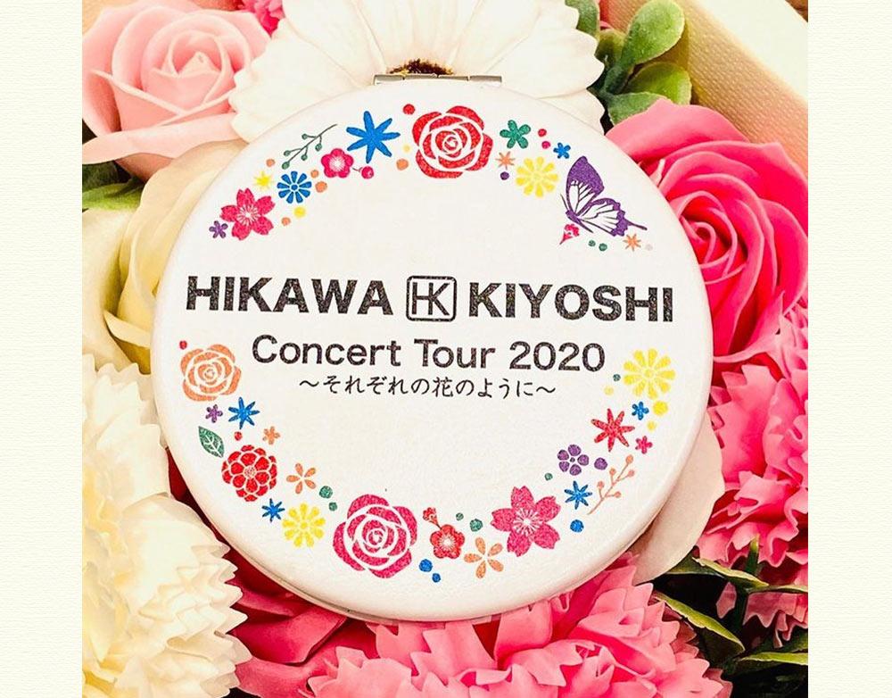 氷川きよし・コンパクトミラー(tour2020)