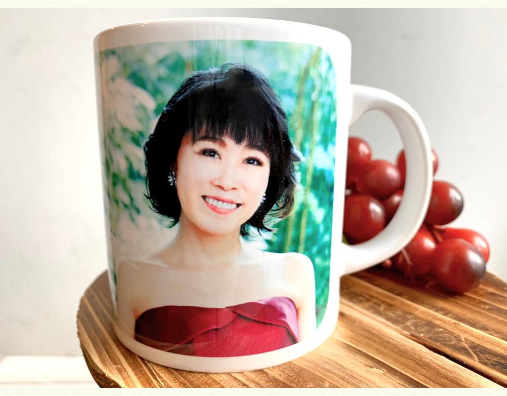 水森かおり・マグカップ[25周年記念]