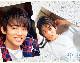 辰巳ゆうと・クリアファイル2枚セット(白×チェック)