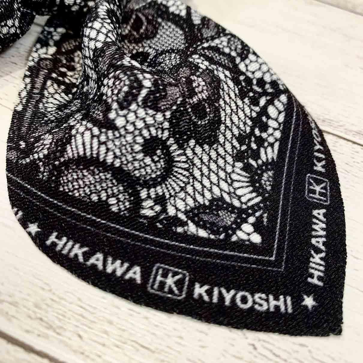 氷川きよし・リボンシュシュ(黒レース)