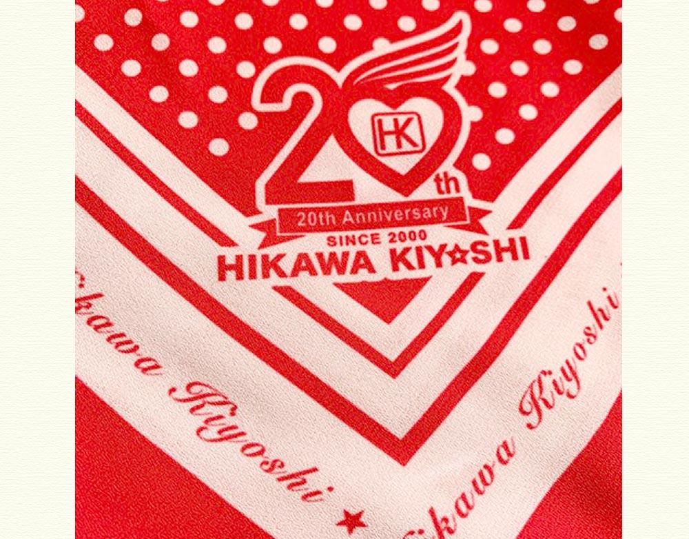 氷川きよし・20th記念大判スカーフ