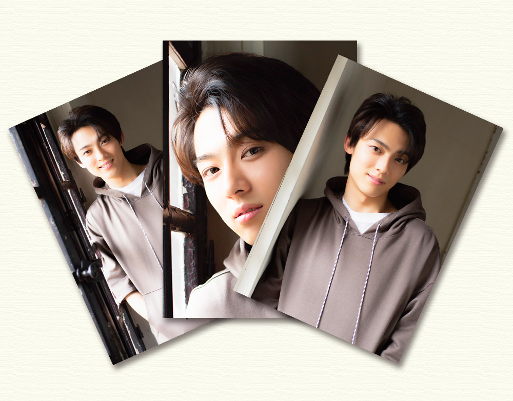 辰巳ゆうと・生写真3枚セットD