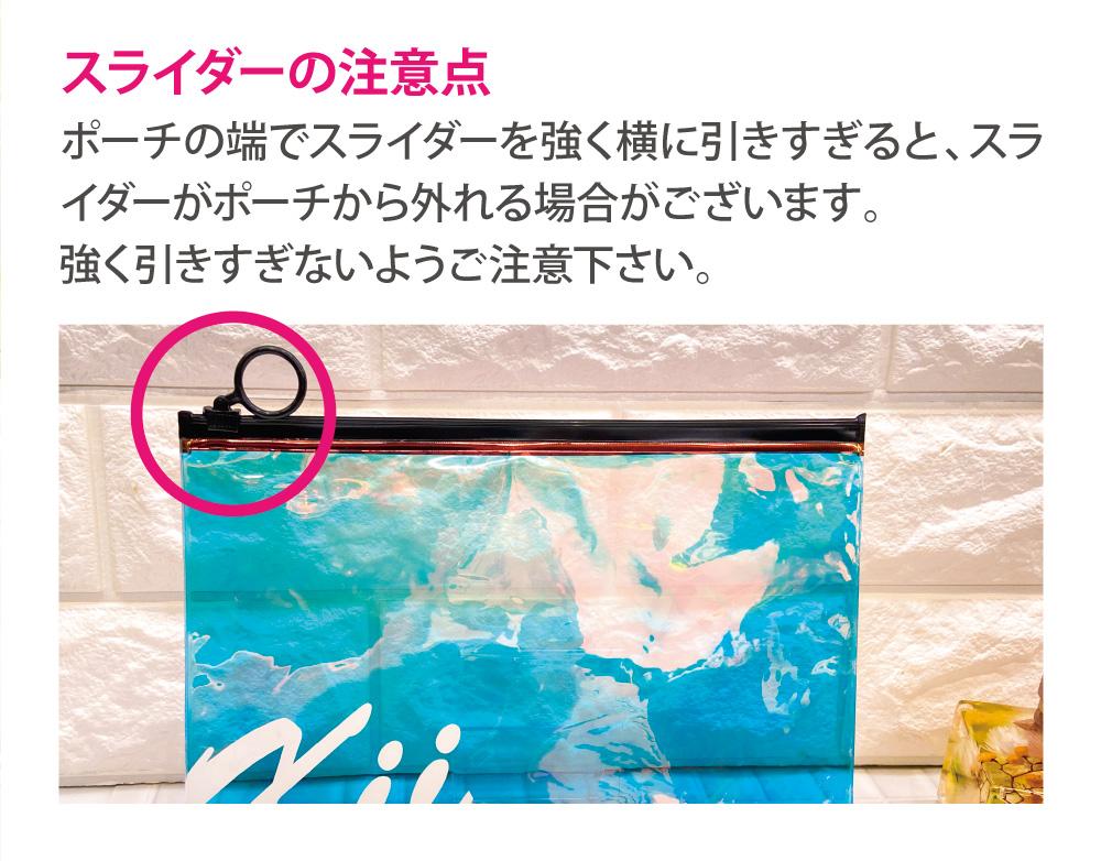 氷川きよし・オーロラポーチ(kii)