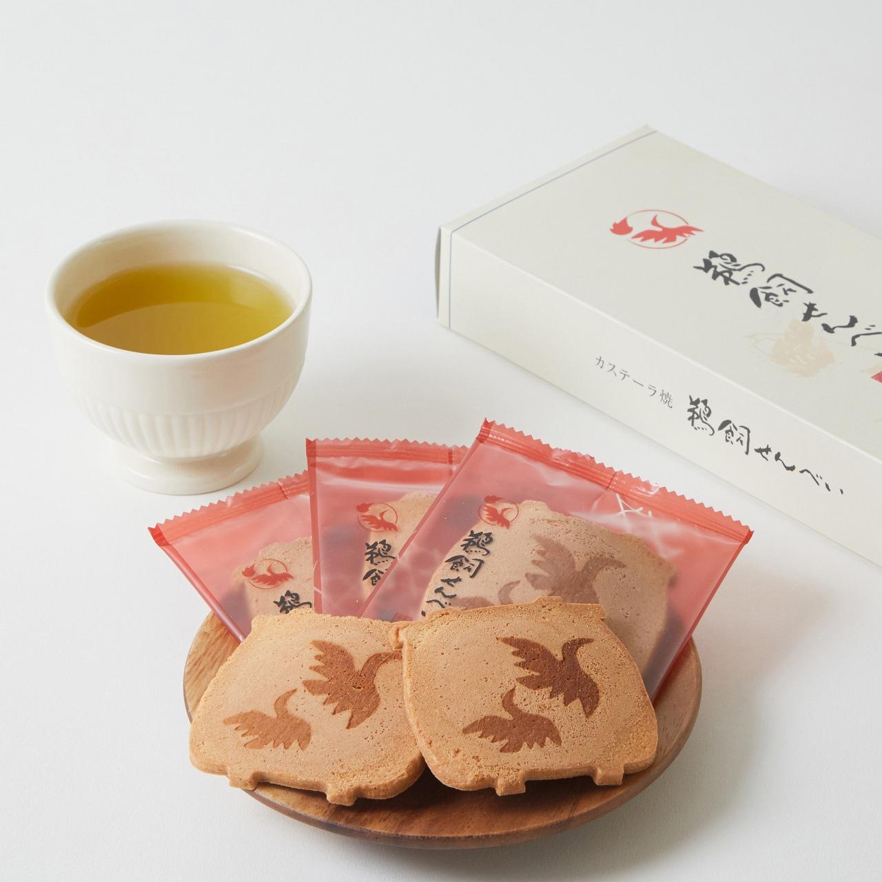 【鵜飼せんべい:12枚】岐阜県産の新鮮素材にこだわった、伝統のかすてら焼き【皇室献上菓子】