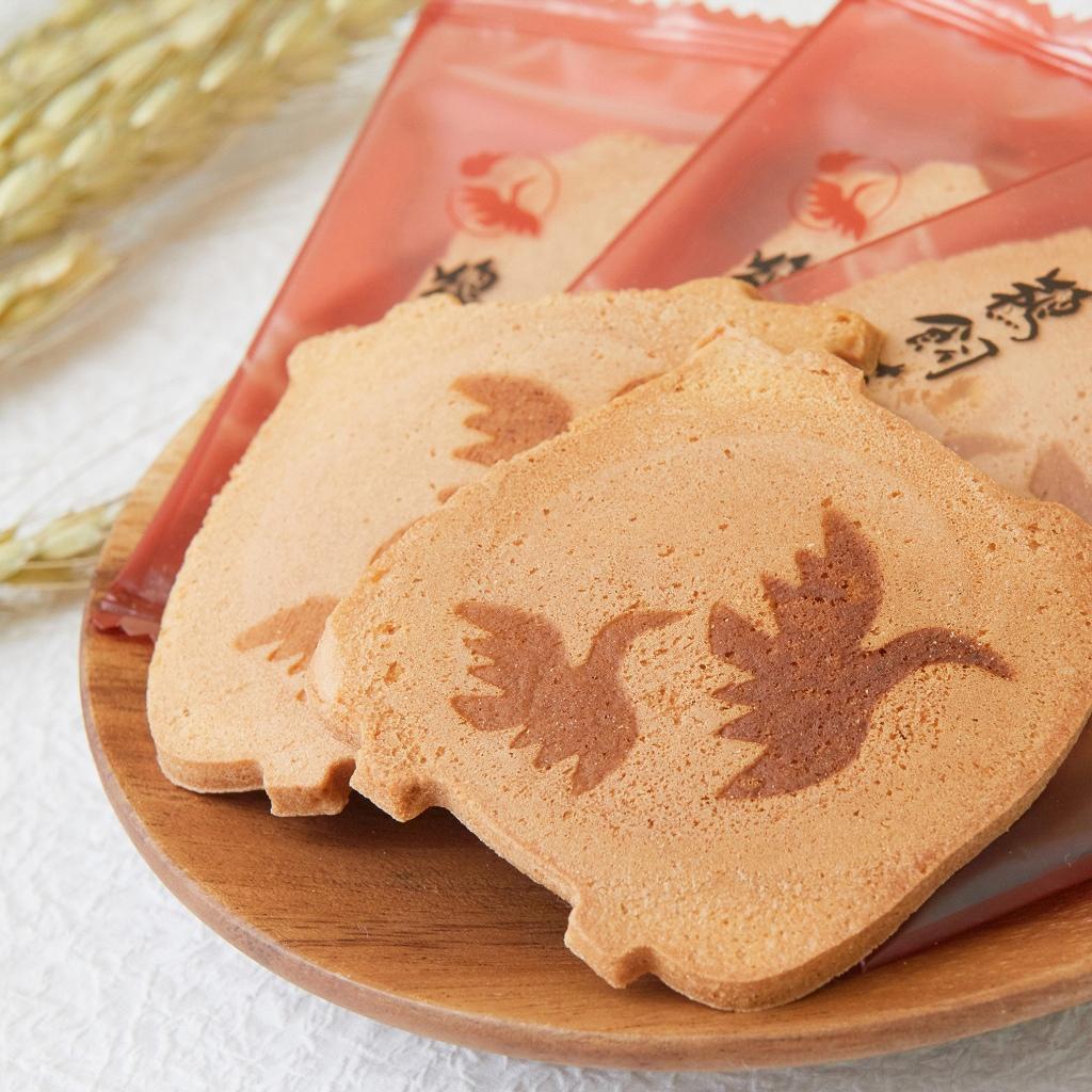 【鵜飼せんべい:12枚×3箱】岐阜県産の新鮮素材にこだわった、伝統のかすてら焼き【皇室献上菓子】