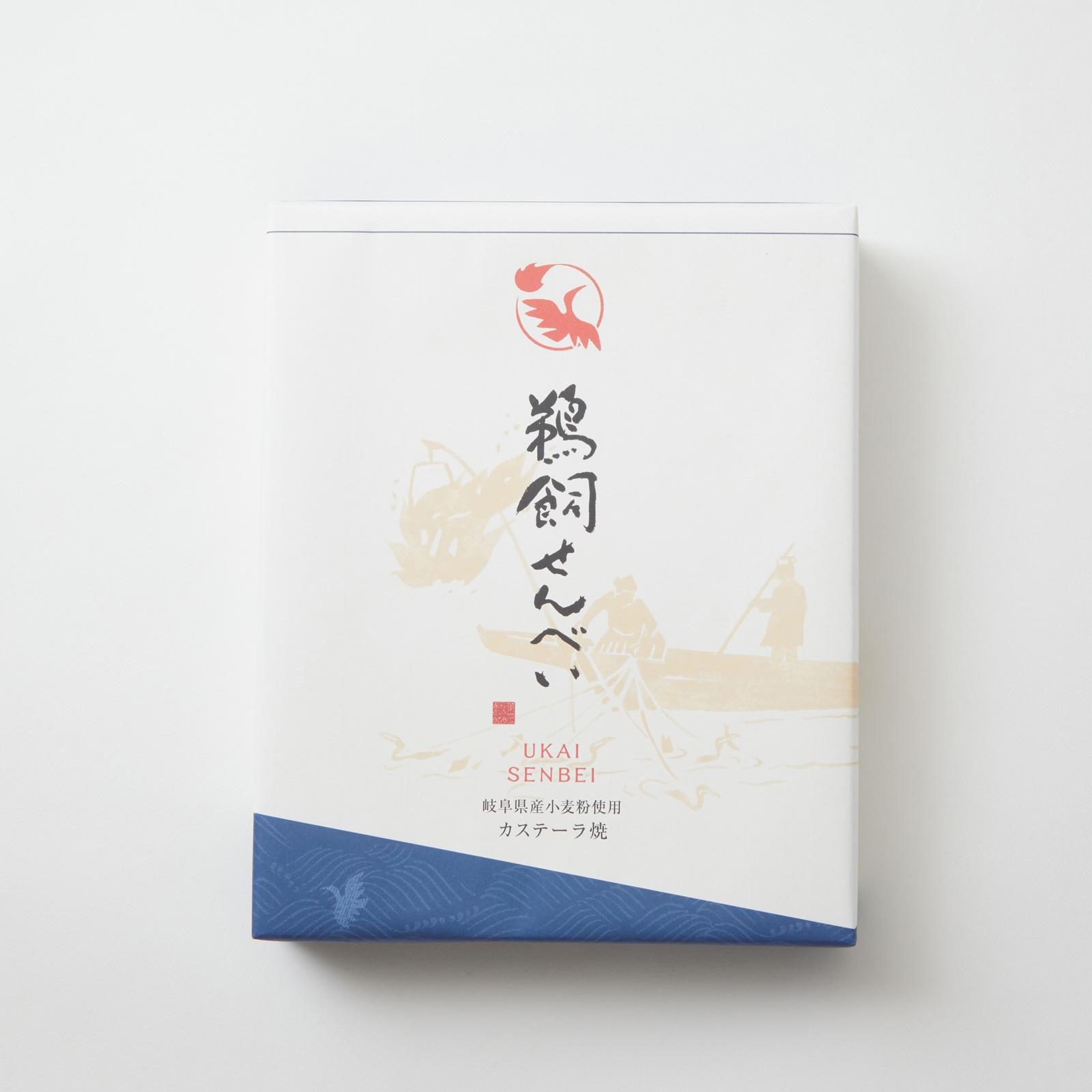 【鵜飼せんべい:12枚×2箱】岐阜県産の新鮮素材にこだわった、伝統のかすてら焼き【皇室献上菓子】