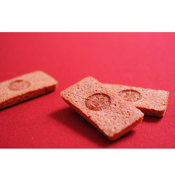【信長の赤(10枚×2箱)】岐阜県産の濃姫いちごを100%使った新食感の南蛮焼き菓子