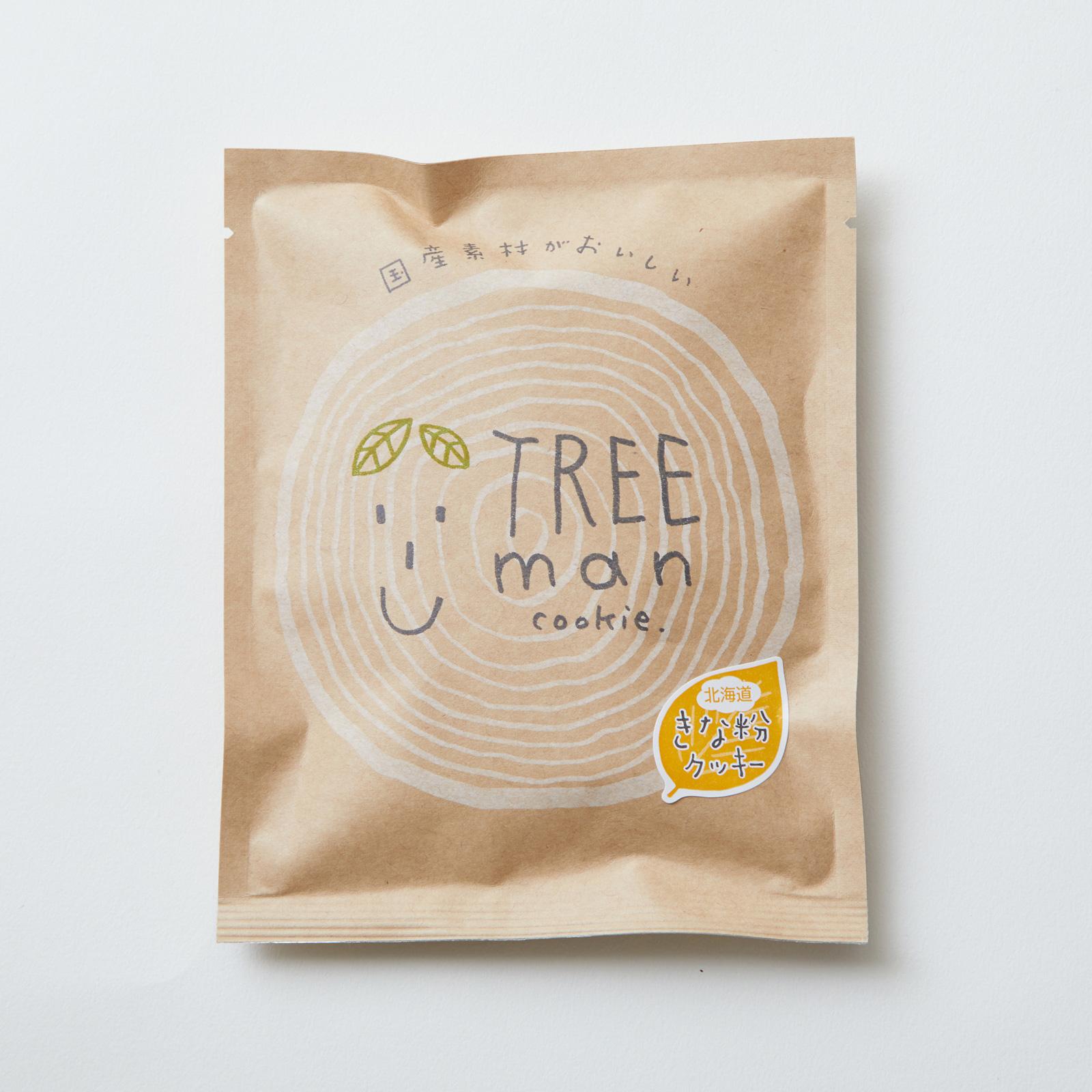 TREEman 北海道きな粉クッキー