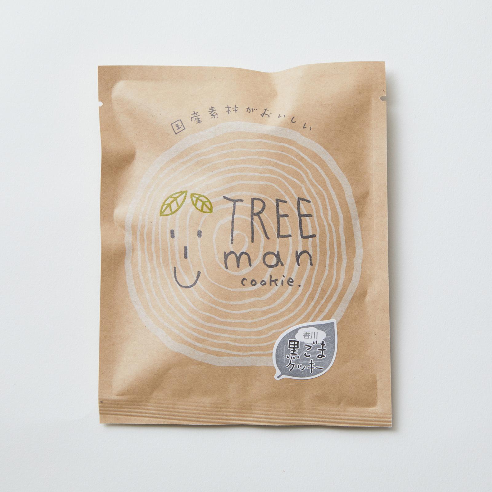 TREEman 香川黒ごまクッキー