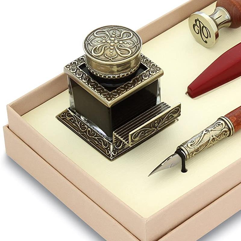 【組み合わせ選択可】ボルトレッティ シーリング・カリグラフィ ギフトセット No.70 ボトルインク つけペン シーリングスタンプ シーリングワックス