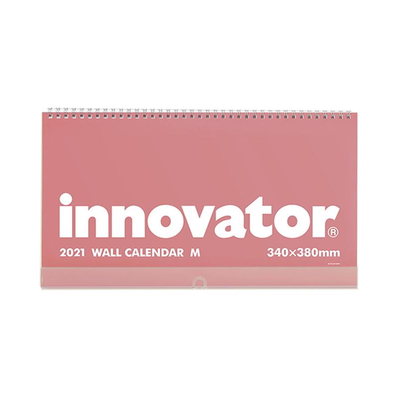 イノベーター 2021年カレンダー 壁掛けカレンダー Mサイズ W34×H38cm innovator/R3/令和3年/壁掛/シンプル/おしゃれ/見やすい
