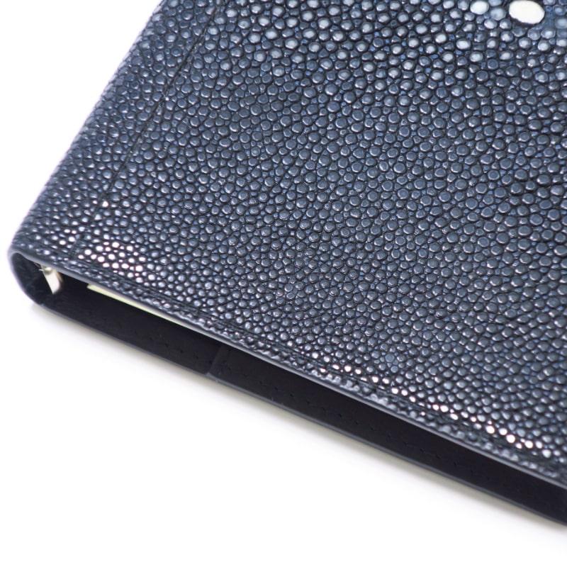 ASHFORD グルービングガルーシャ BIBLE 15mm note ブラック 7269
