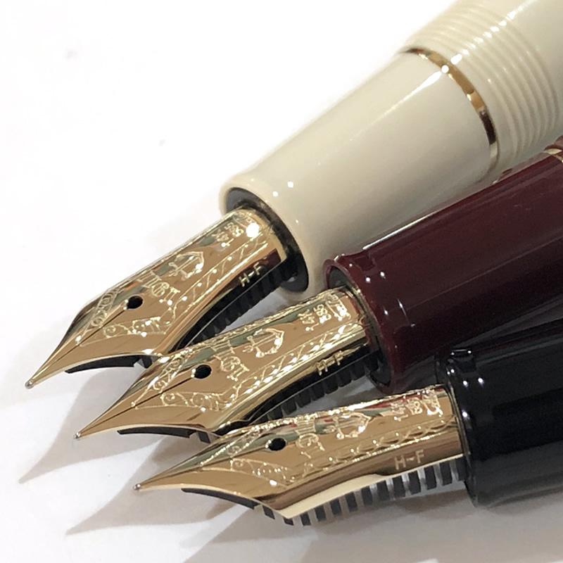 セーラー万年筆 プロフェッショナルギア スリムミニ 金 ブラック/アイボリー/マルン EF/F/MF/M/B 小型万年筆 14金 プロギアスリムミニ