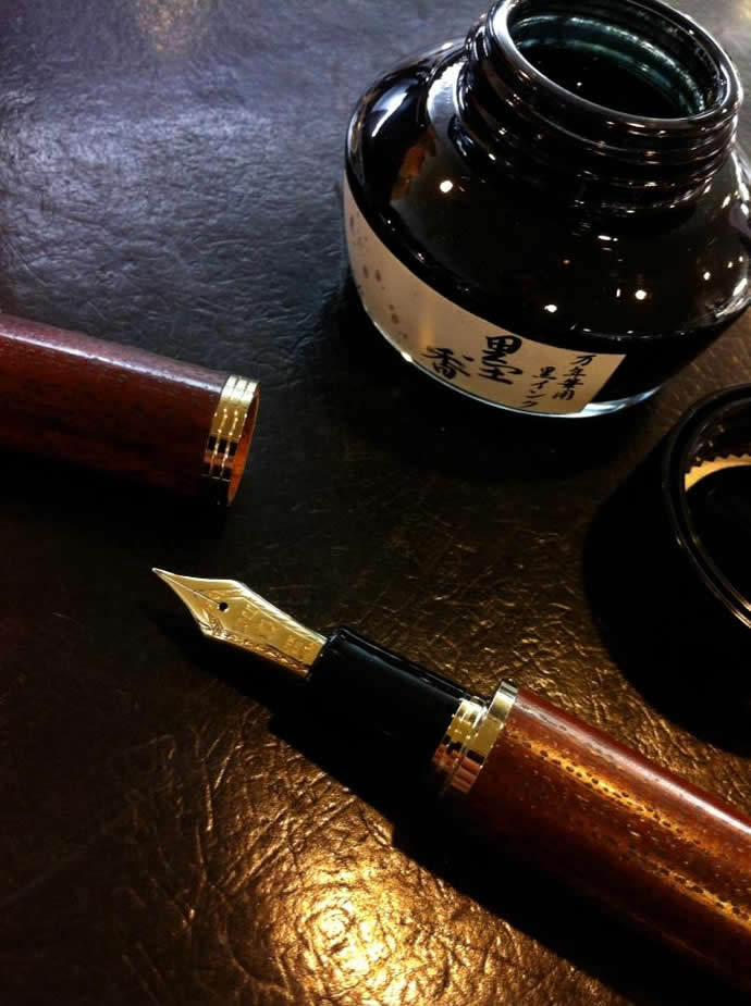 NAGASAWA Penstyle Kobe INK物語 墨香 (神戸インク物語/ナガサワ文具センター/オリジナル)