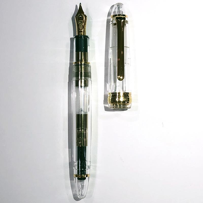 カスタム万年筆 プロスケ21 小太刀 F/M/Bナガサワオリジナル万年筆  セーラー万年筆プロフィットタイプ ペン先21金