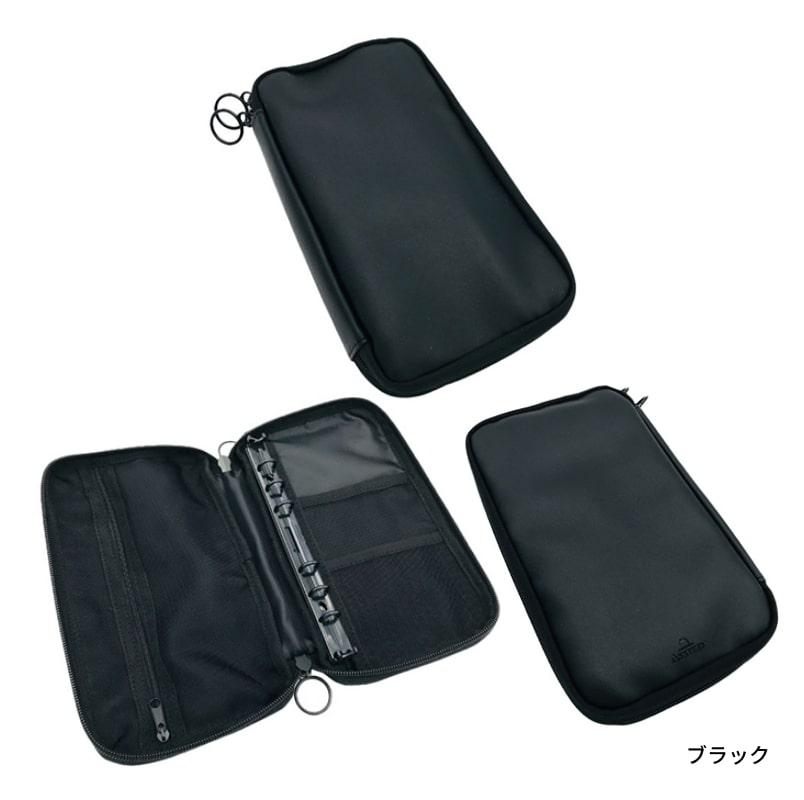 アシュフォード リフィルパッドポーチ バイブル 12mm ブラック/カーキ/ベージュ 0325
