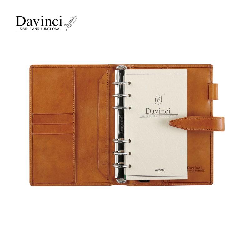ダヴィンチ davinci システム手帳 ロロマクラシック Roroma Classic 聖書 24mm ブラック/ダークブラウン/ブラウン/ネイビー/ブルー/グリーン/レッド DB3014