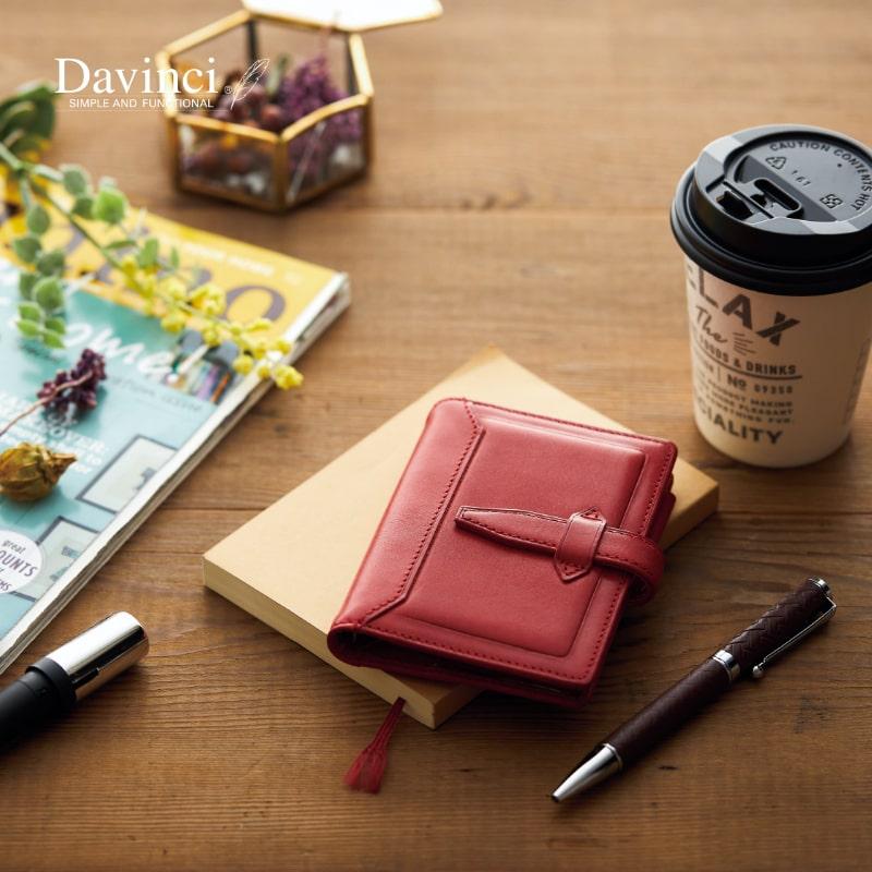 ダヴィンチ davinci システム手帳 ロロマクラシック Roroma Classic mini5 11mm ブラック/ダークブラウン/ブラウン/ブルー/グリーン/レッド DPM3034