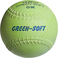 ケンコーグリーンソフトボール12インチ・ウレタン芯(G3KRV-UR)1個