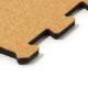 日本製ジョイントコルクマット【スポンジ有】 ナチュラル/ミドリ 12枚1セット(ナチュラル6枚/ミドリ6枚)