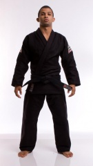 ATAMA柔術衣 シングル 黒