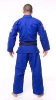 ATAMA柔術衣 シングル 青