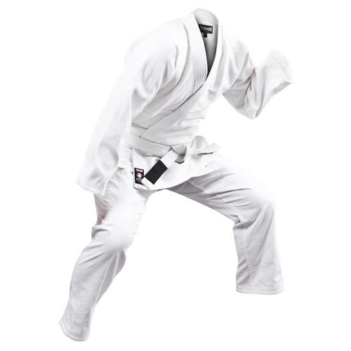 軽量柔術衣 上下白帯付セット 白 青 黒