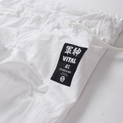 VITAL 柔術衣 BATCH #003 軍神 白