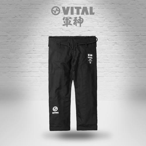 VITAL 柔術衣 BATCH #003 軍神 黒