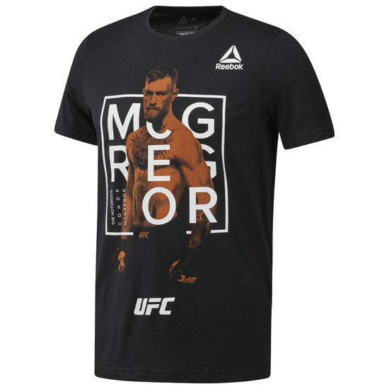 Reebok CD5416 UFC FG MCGREGOR FIGHTER グラフィック ショートスリーブTシャツ