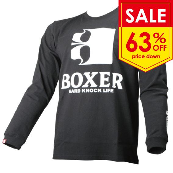 BOXER ロゴ ロングTシャツ