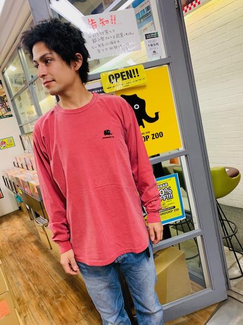 【最終在庫分】ZOO支援ロングスリーブTシャツ