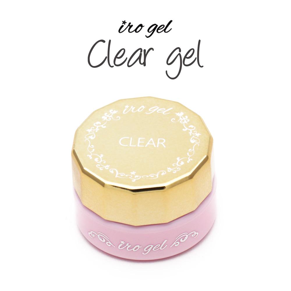 【ネコポス 送料無料】irogel クリアジェル 3g 無色透明で黄ばまない